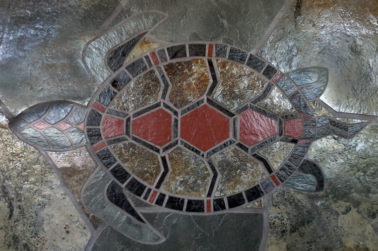 Mosaique - Tortue