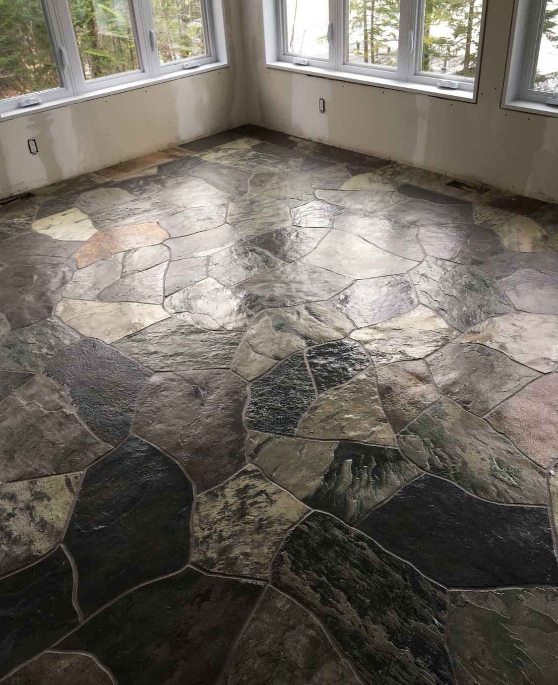 Terra-Nova floor mixed colors